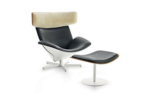 Almora chair by Doshi Levien at B&B Italia