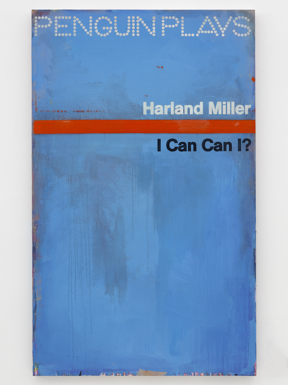 Harland Miller I Can Can I? 2014