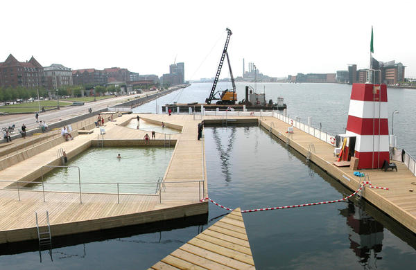 Copenhagen Harbour bath