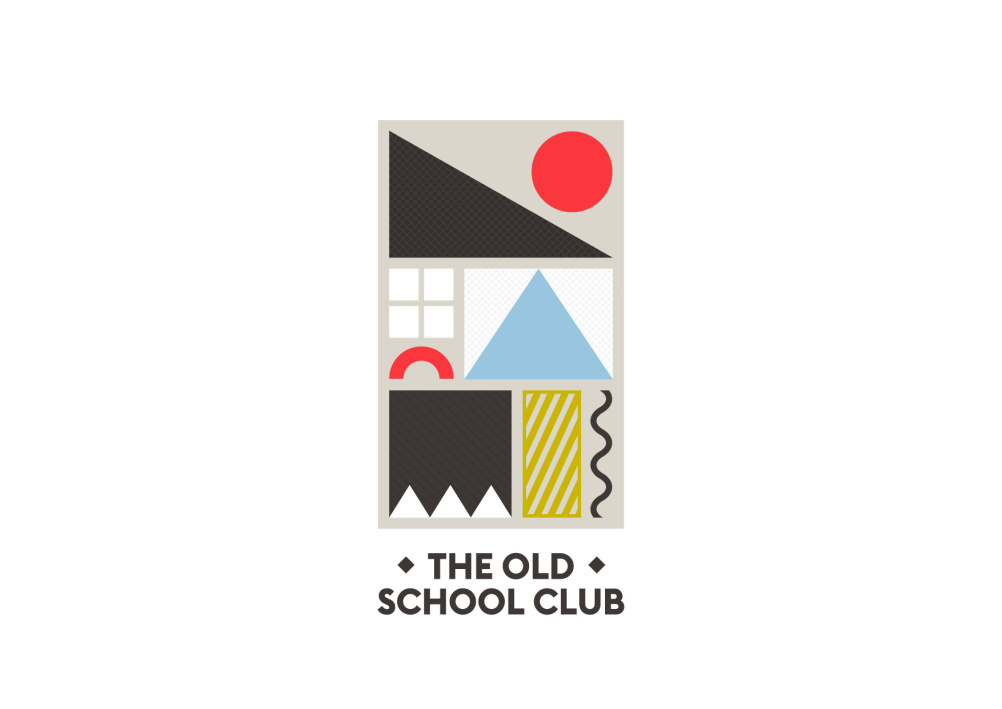 The Old School Club identity