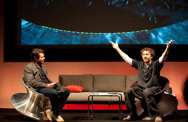 Daniel Charny and Thomas Heatherwick at the 2012 Global Design Forum