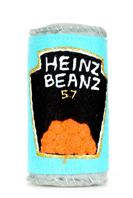 Felt Heinz beans