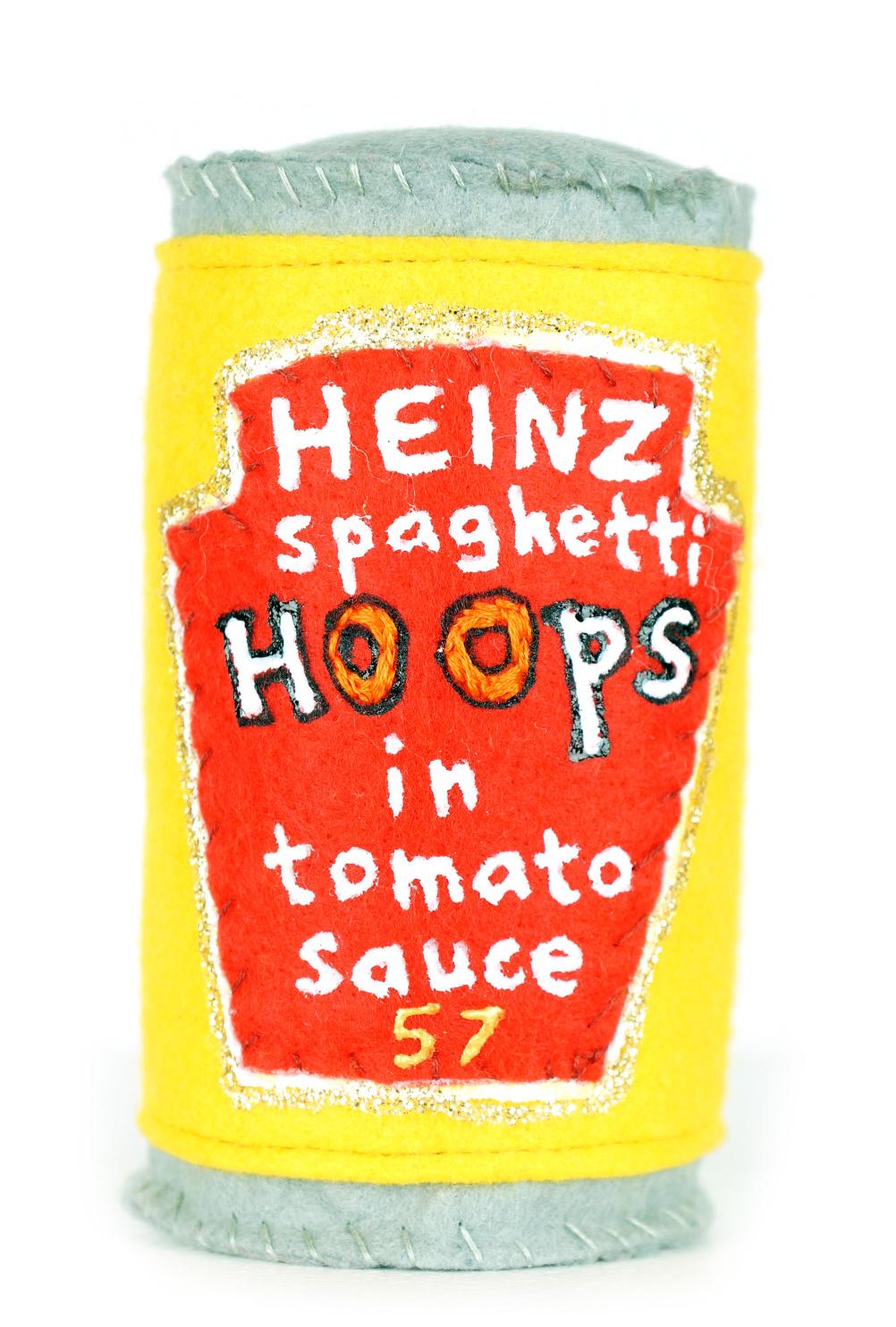 Felt spaghetti hoops