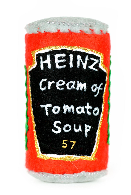 Felt tomato soup