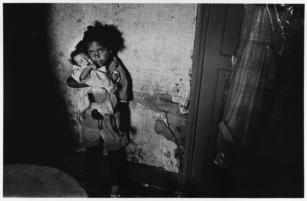 Children living in substandard property, Birmingham Balsall Heath, June 1969