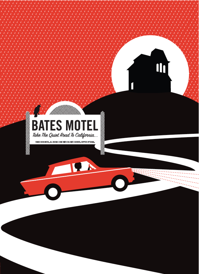 Bates Motel (Psycho)- Jane Bowers
