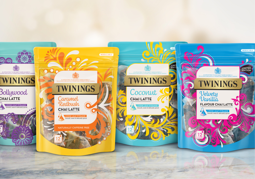 Brandopus Overhauls Twinings Black Tea Range Design Week