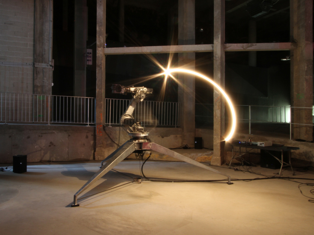 Conrad Shawcross, The ADA Project, 2013, Installation view at Palais de Tokyo, Paris