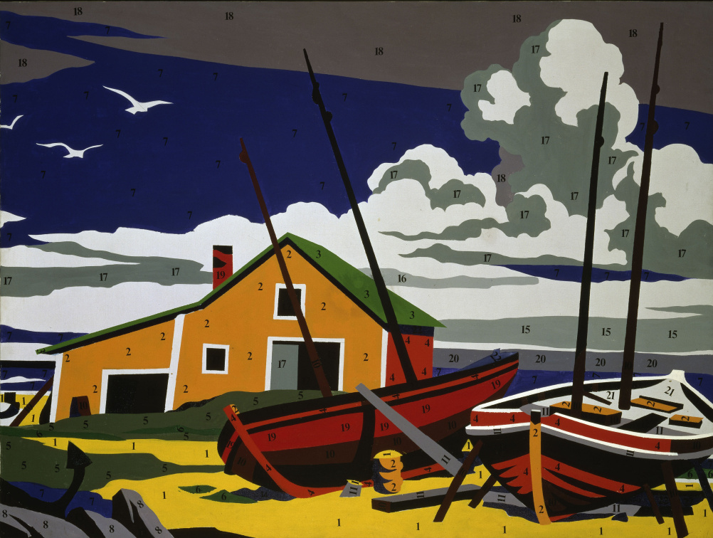 Andy Warhol, 1928-1987 Do it Yourself (Seascape) 1962