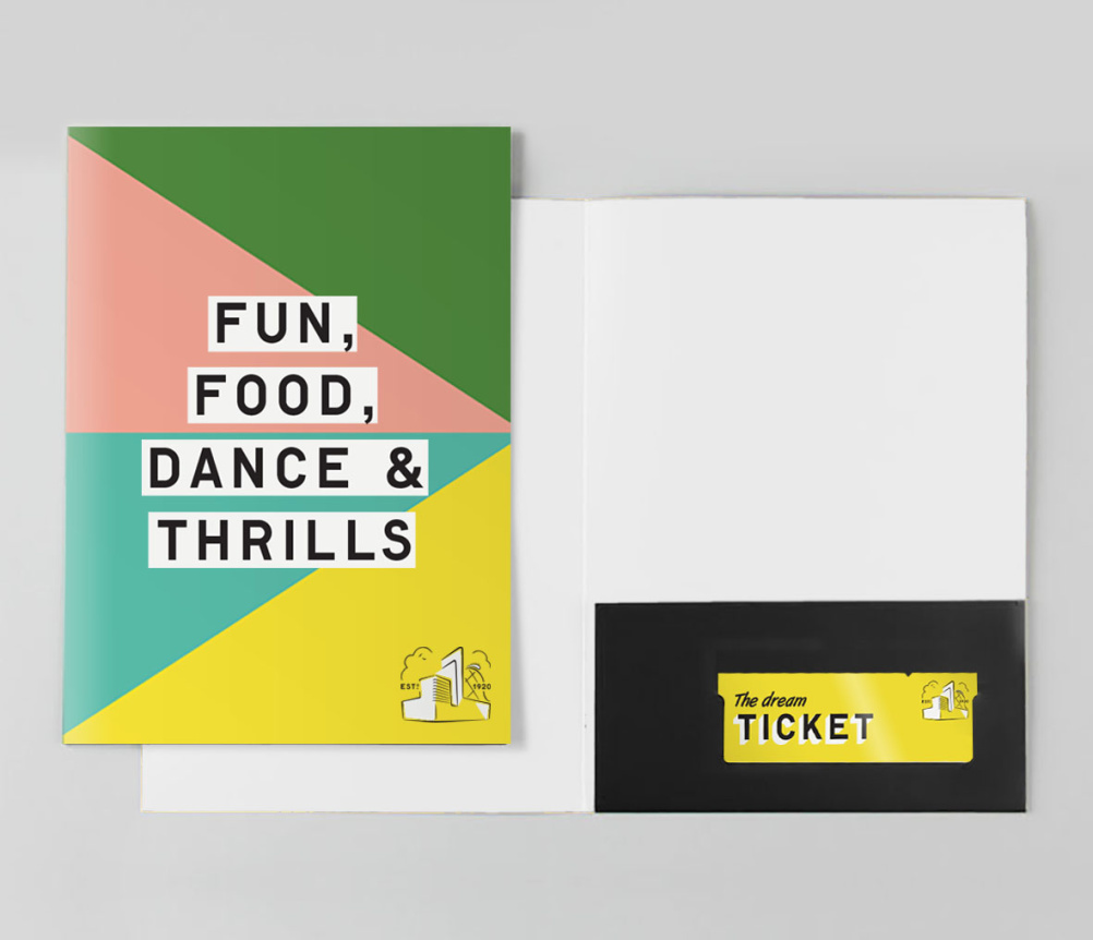 Dreamland Margate printed collateral