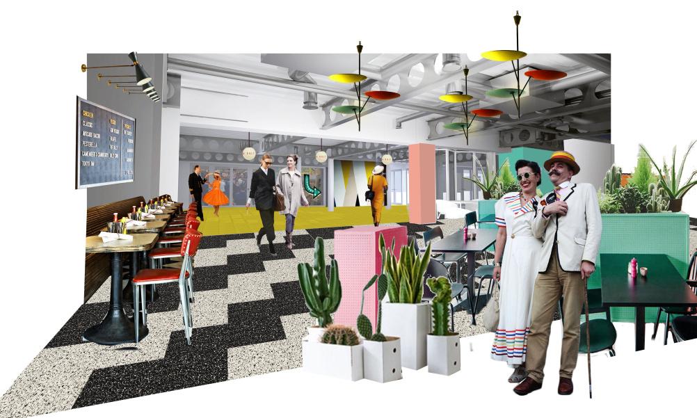 Dreamland Visual - Cafe Space