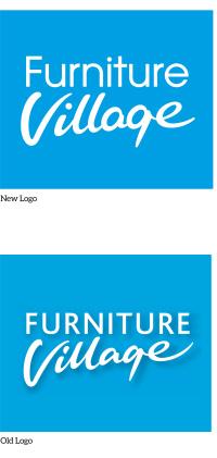 Furniture Village logo redesign