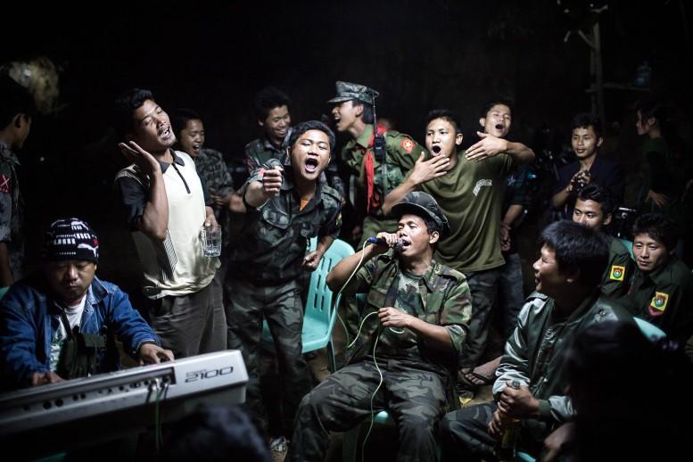 Kachin Fighters, by Julius Schrank