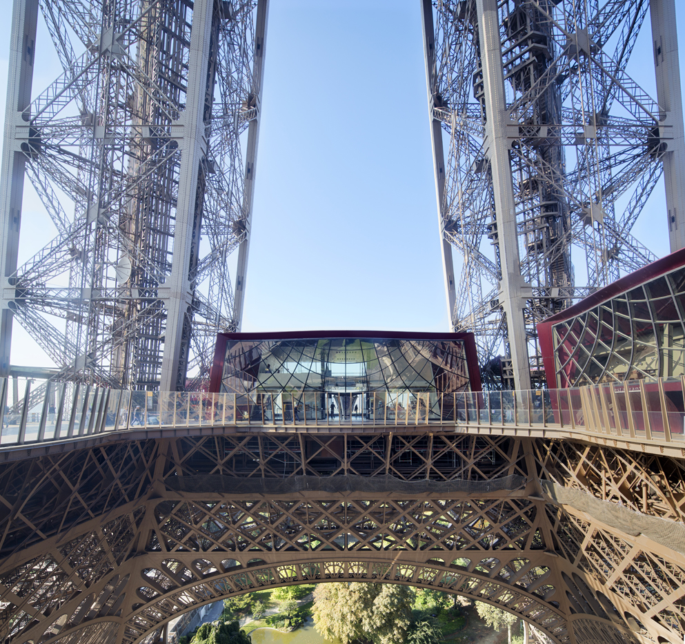 The Eiffel Tower's new first floor visitor attraction