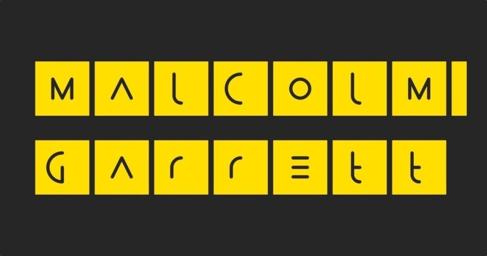 Malcolm Garrett typography