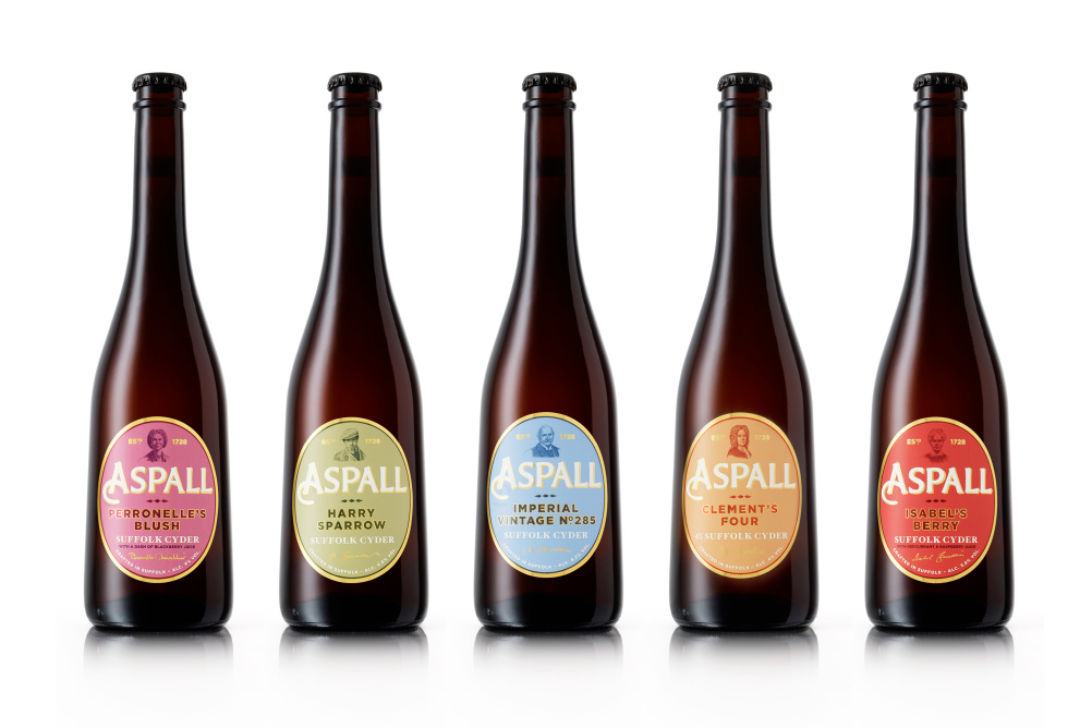 Aspall special bottles