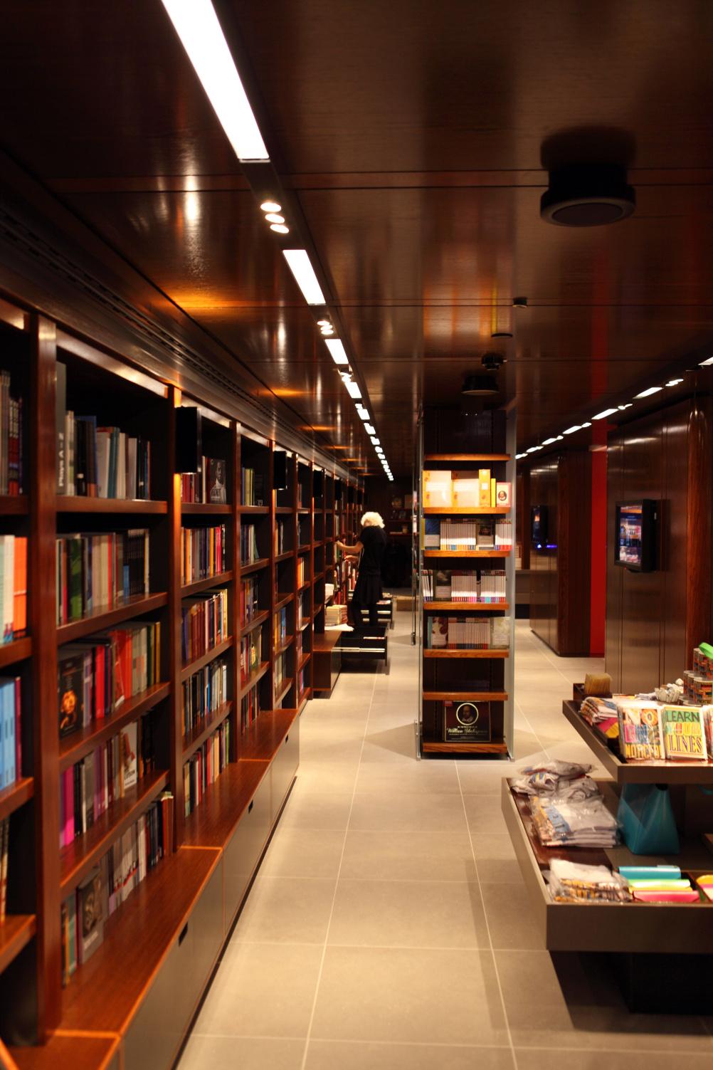 National Theatre Bookshop by Lumsden Design