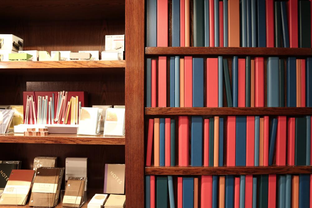 Secret passage – National Theatre Bookshop by Lumsden Design