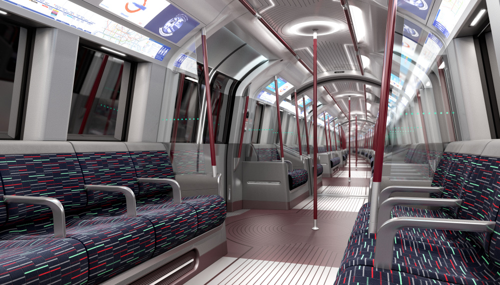 New train interior