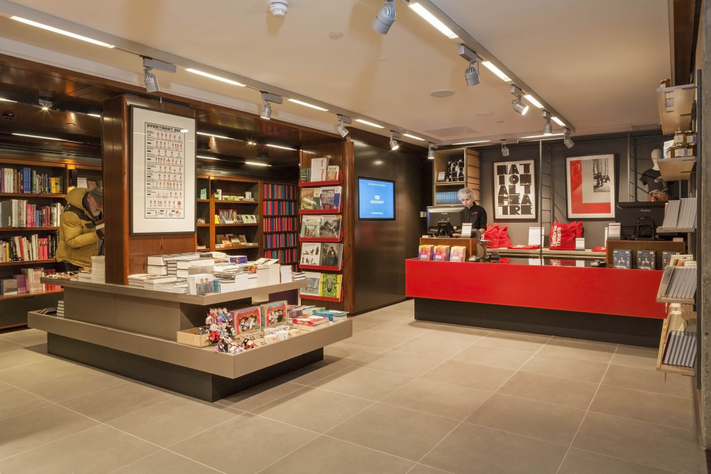 National Theatre Bookshop by Lumsden Design