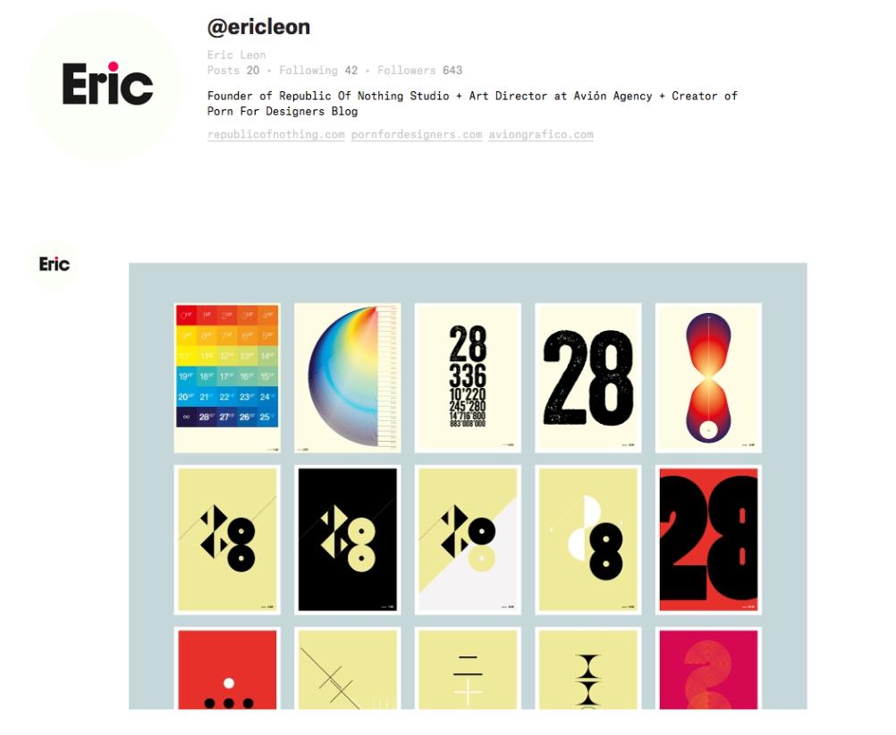 Eric Leon's Ello page
