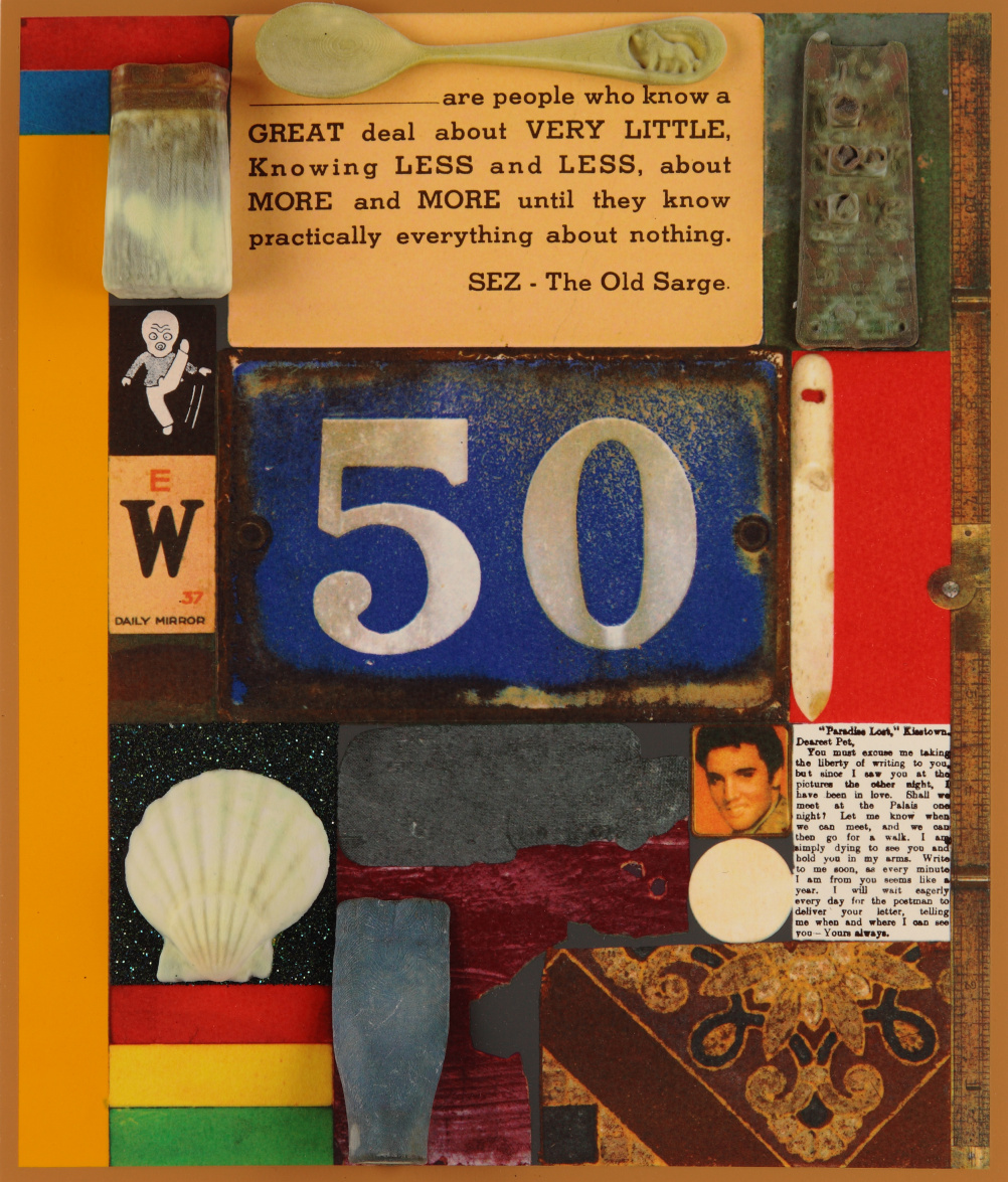 Sir Peter Blake 3D Wooden Puzzle Series