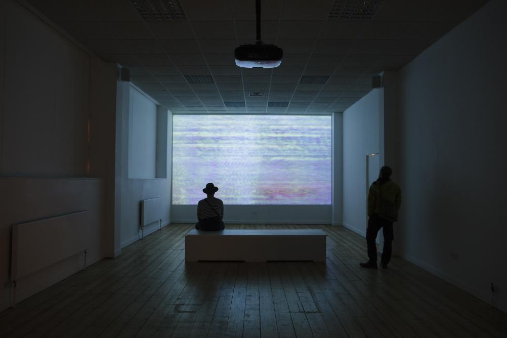 Susan Hiller Resounding (Infrared), 2013 Installation View at Summerhall, Edinburgh