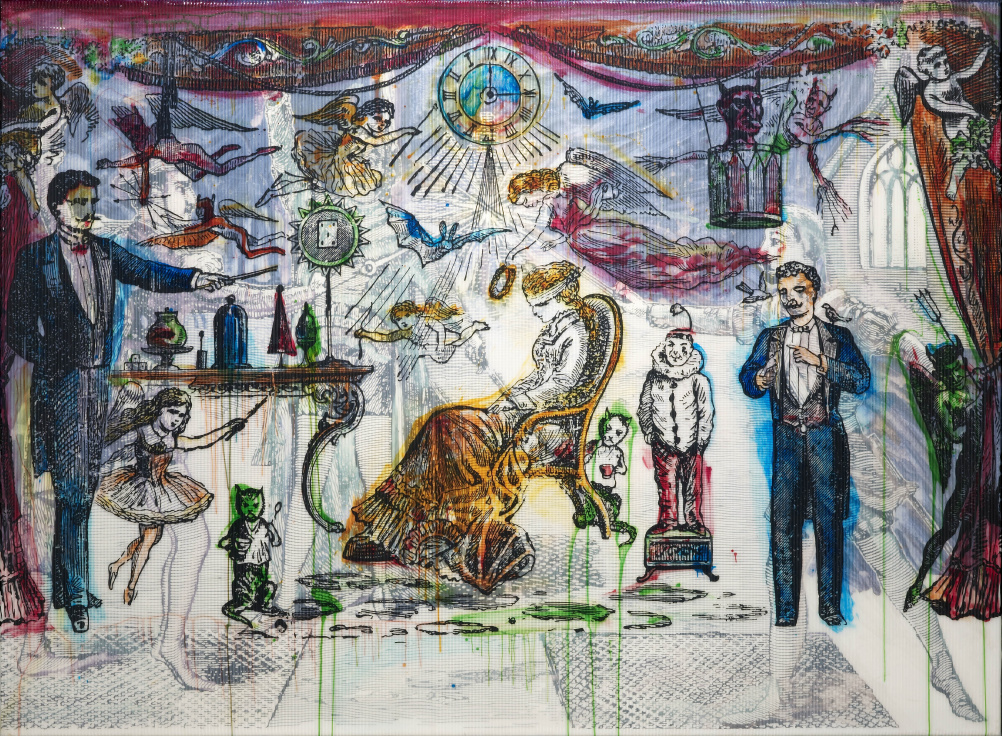 Sigmar Polke (1941 - 2010) The Illusionist 2007