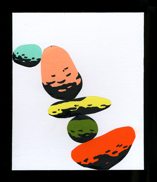 Tim Lahan, Untitled Collage.