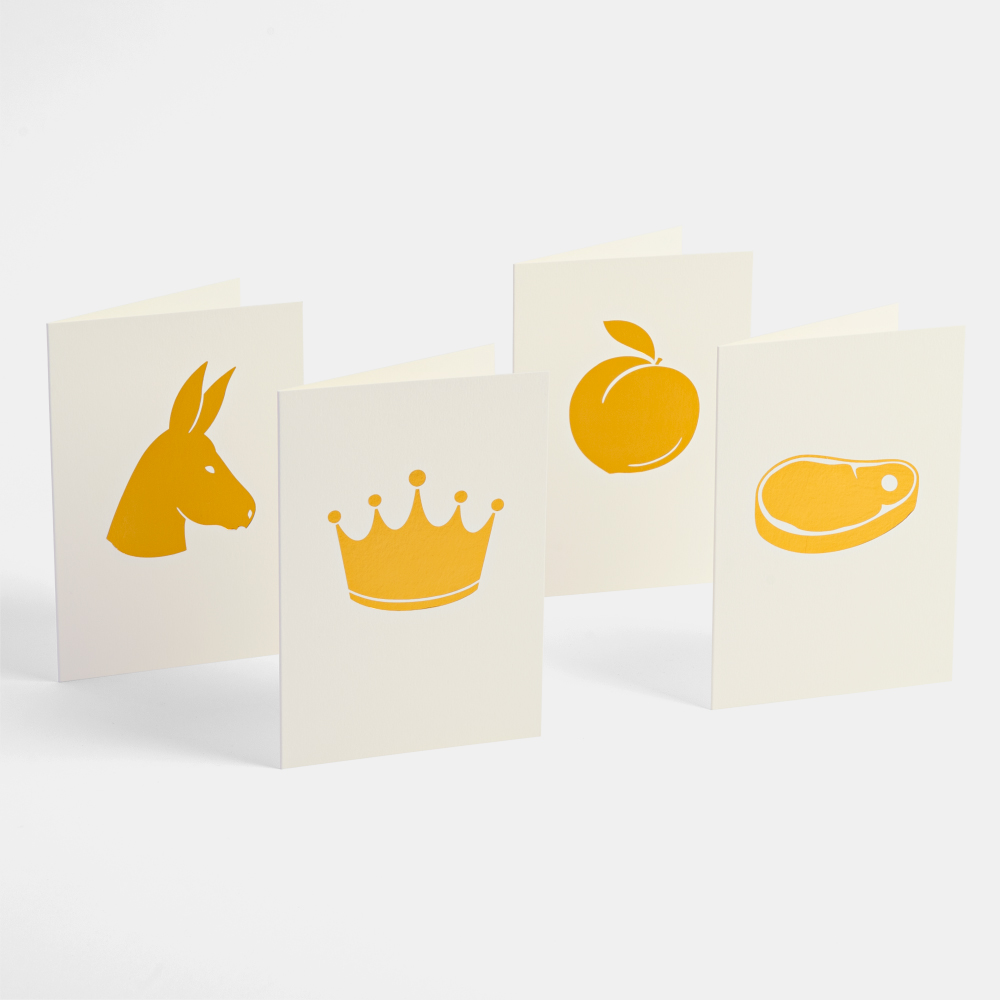 'For your eyes only' cards, by Together Design