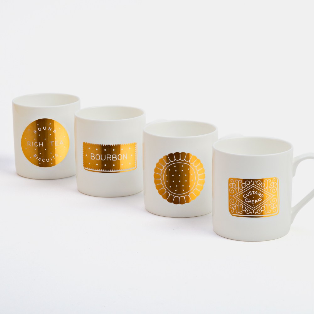 Biscuit Mugs, by Together Design