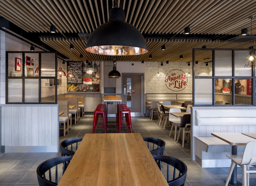 kfc unveils radical new interior designs design week rh designweek co uk