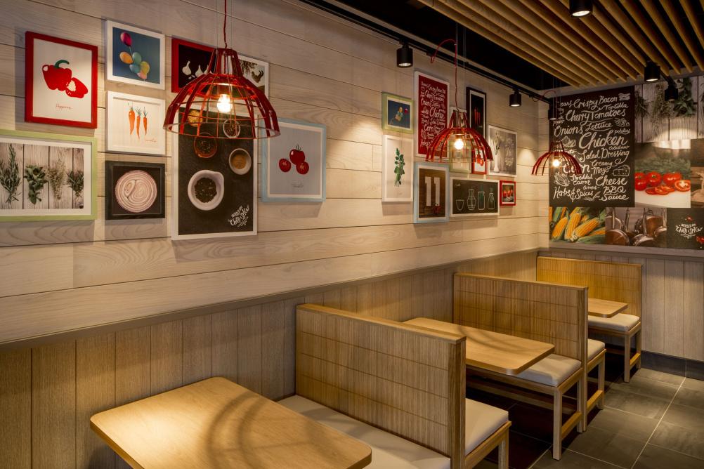 Restaurant Interieur Design.Kfc Unveils Radical New Interior Designs Design Week