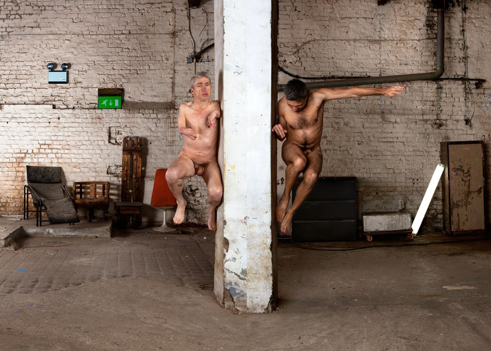 Mat Fraser and Manuel Vason, Double Exposures, London, 2013
