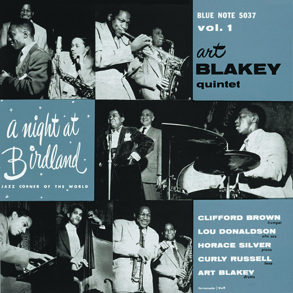 The Art Blakey Quintet. A Night at Birdland. Vols 1 & 2 (1954)