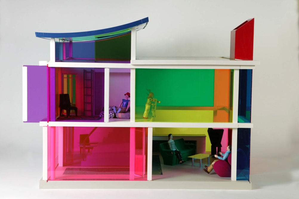 Kaleidoscope House USA, 2001, by Laurie Simmons, Peter Wheelwright and Boz