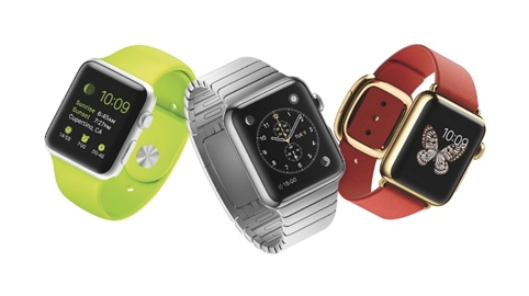 The recently-launched Apple Watch