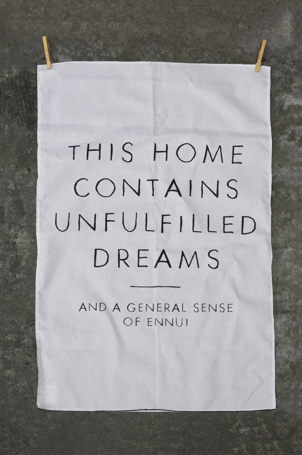 This Home Contains Unfulfilled Dreams from the Crooked Darlings collection