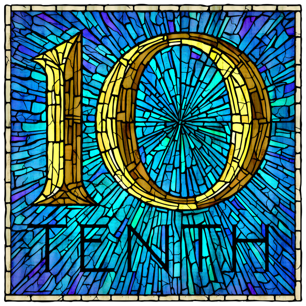 Type Worship type and lettering advent calendar 10