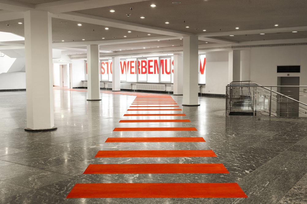 Museum of Applied Arts Berlin wayfinding by Double Standards