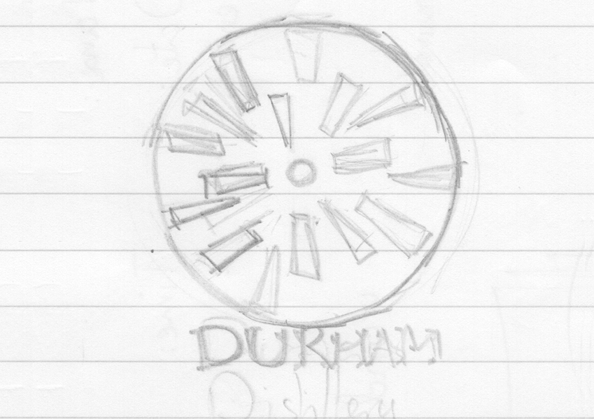 Durham Distillery logo first