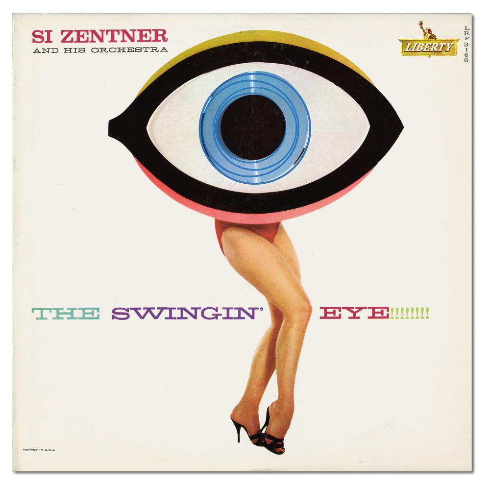 Bill Plate and Gene Howard. The Swingin' Eye. Album Cover, 1960