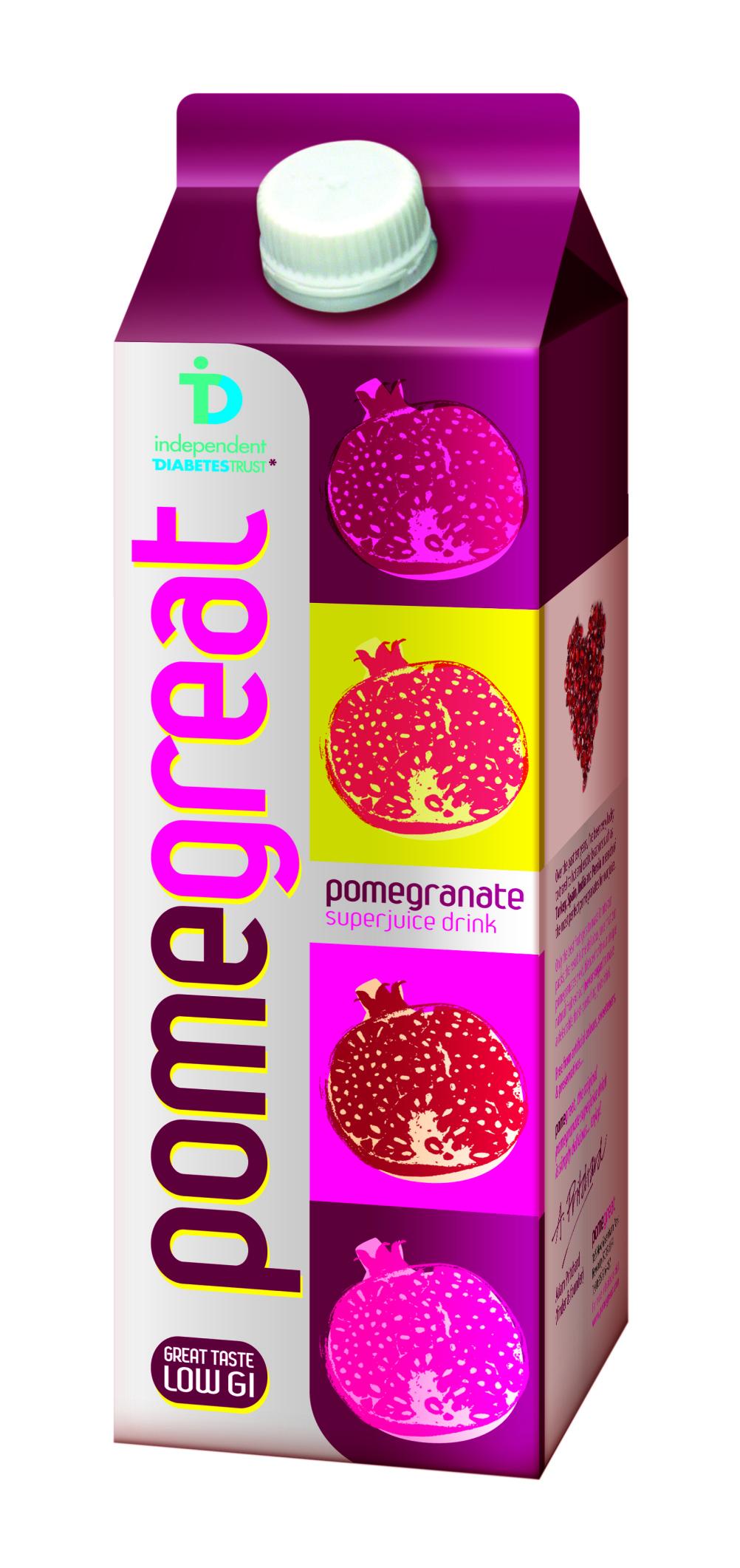 Pomegreat design by Parker Williams