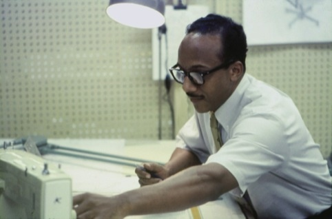 Chuck Harrison working for Sears Roebuck in the 1960s