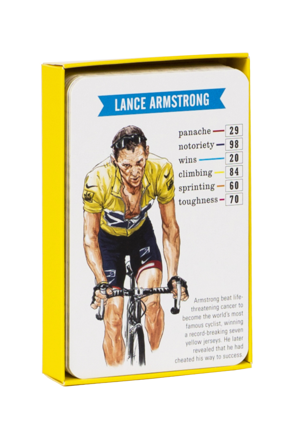 "Lance Armstrong – surprisingly not ranked on ""drug use"""