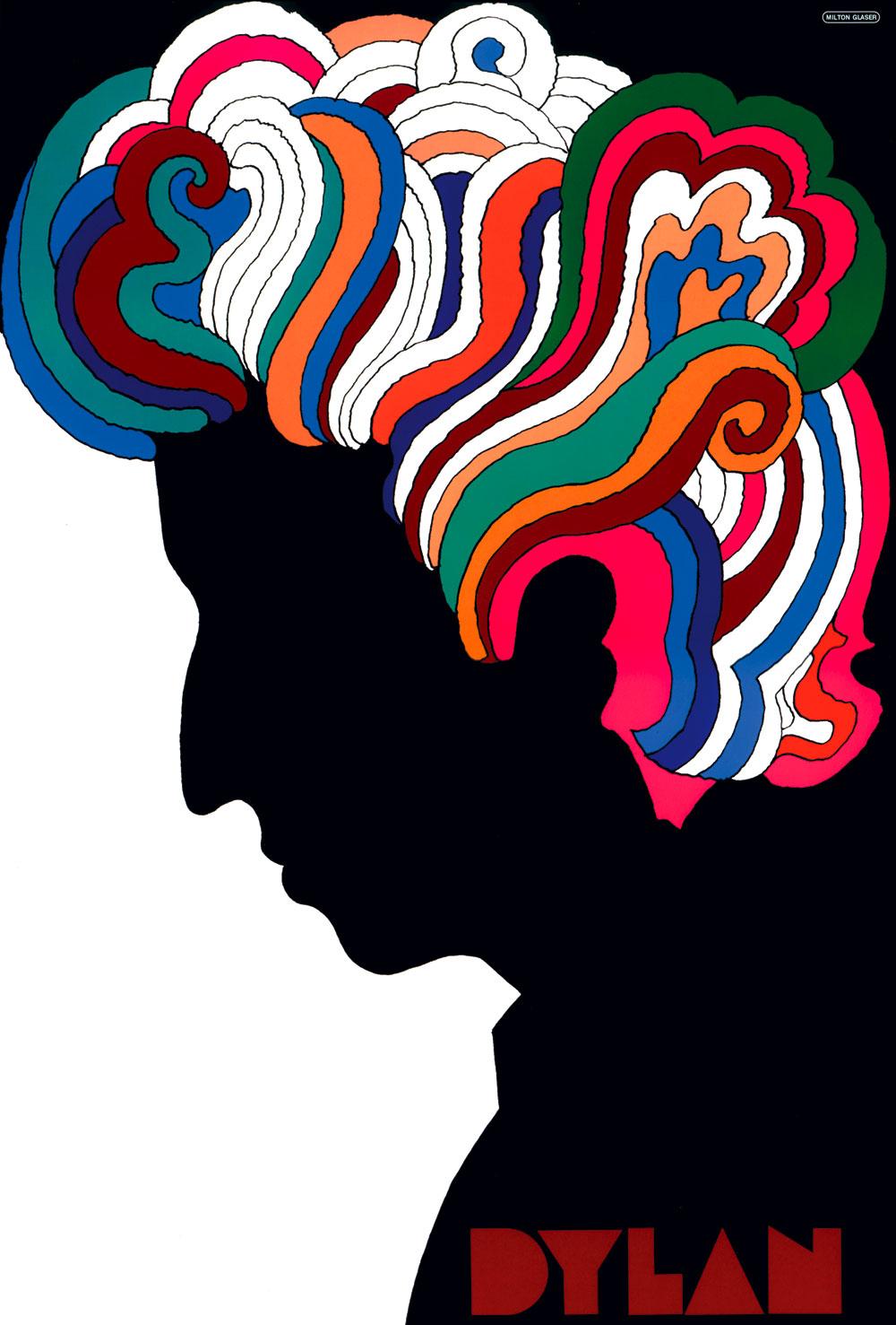 Milton Glaser, Dylan, 1966