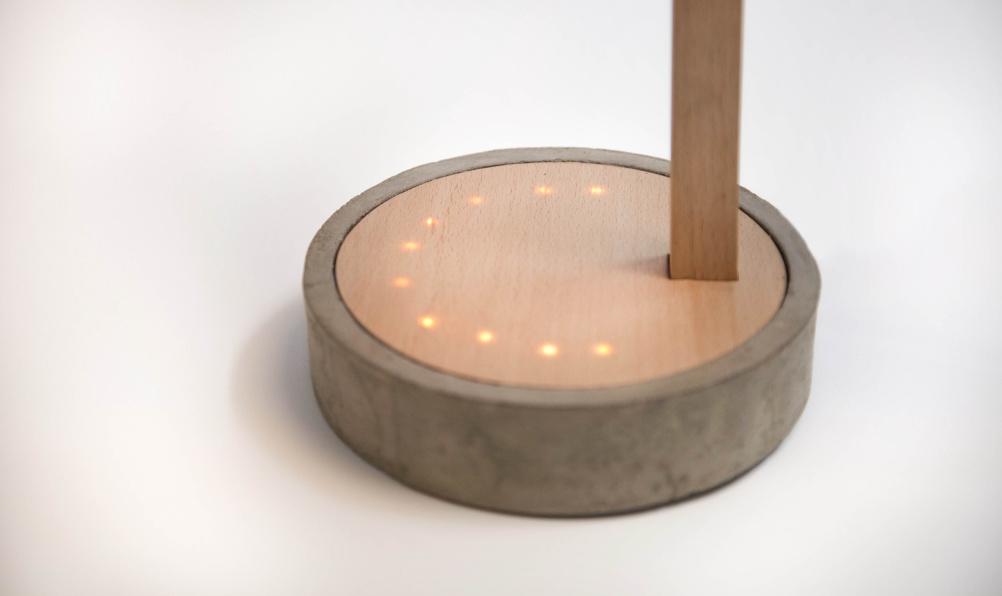 Seasonal affective disorder lamp base