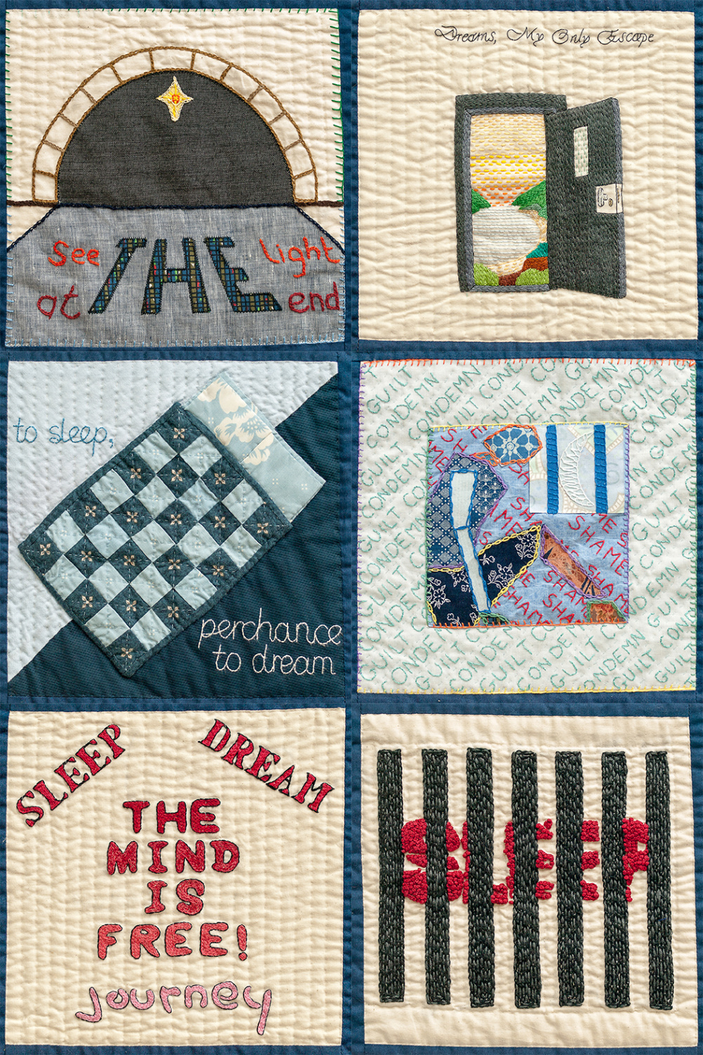 Selection of Sleep Quilt Patches