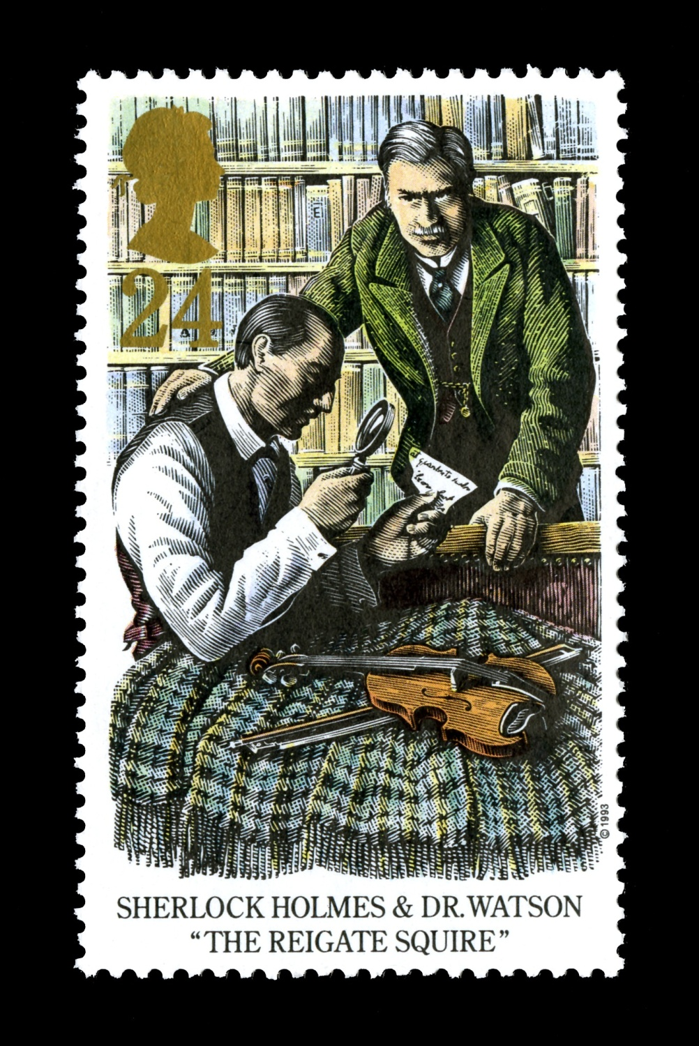 Special Stamps 50th anniversary Royal Mail Sherlock Holmes