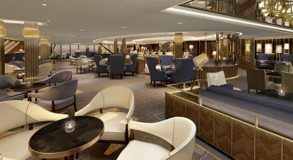 Designing The Interiors For A 141 000 Ton Cruise Ship Design Week